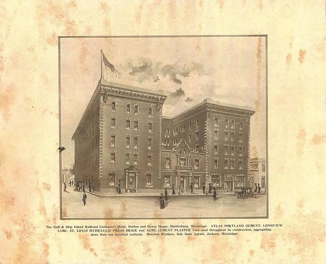 GSIRR_Company's_Hotel_Station_&_Powerhouse_Hattiesburg