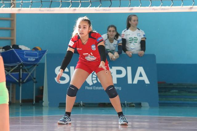Campionato Fipav U16 Bianca 22 Gennaio 2017 Pro Patria  - Alba Segrate 3 - 0