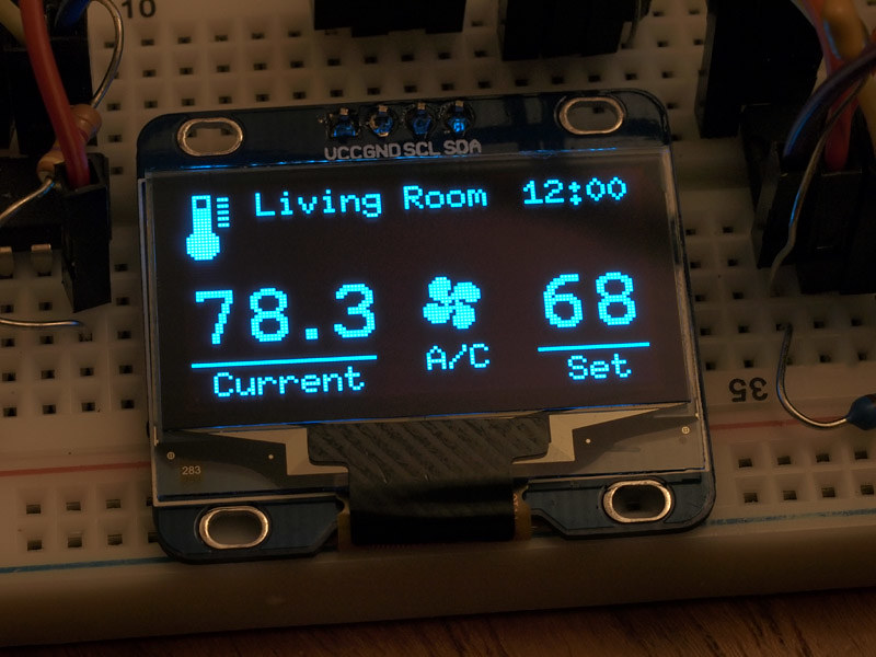 DIY: Arduino Thermostat (Development)   Trying out some idea