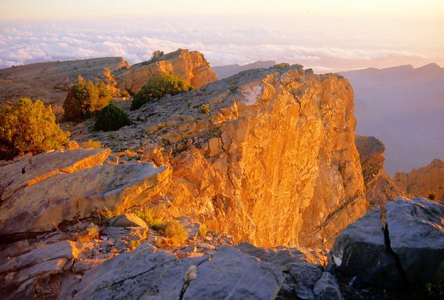 Sunrise at Jebel Shams