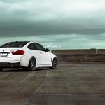 BMW F32 435i on Velgen Wheels VMB6 Matte Gunmetal 20x9 & 20x10.5