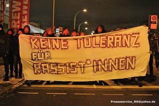 2017.01.16 Potsdam - AfD Kundgebung, Proteste, Antifa Spontandemo (1)