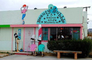 Beauty Bubble Salon and Museum, Joshua Tree, California | by Cragin Spring