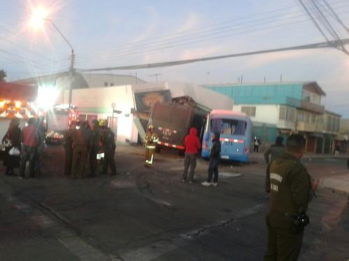 Represión Policial FFEE contra Trabajadores que luchan por #AcuerdoMarco