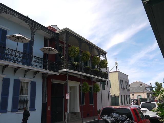 French Quarter homes