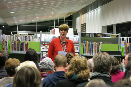 Libraries and Information Unit manager Carolyn Robertson