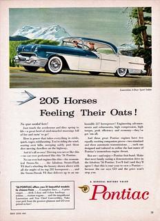 1956 Pontiac Laurentian 4-Door Sport Sedan (Canada)