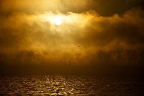 lake water clouds sunrise id idaho coeurdalene lakecoeurdalene thechallengefactory