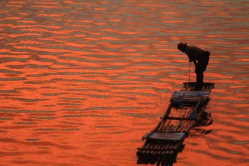 sunset sungaiserayu petersimonlewier boledografia kaliserayu simondawirphotobook serayusunset