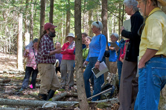 Vernal Pool Walk at Distant Hill Gardens - May 4, 2013