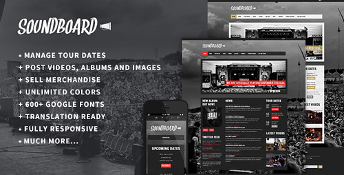 Free-Download-Soundboard-Responsive-WordPress-Theme