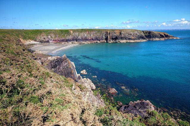 Caerfai Bay & Beach