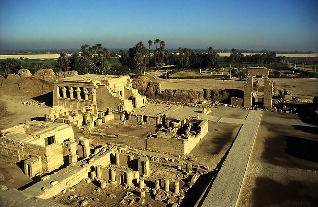 Ägypten 1999 (525) Tempel von Dendera