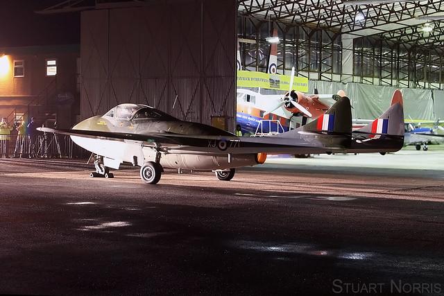 de Havilland Vampire XJ771 G-HELV - Aviation Heritage Ltd