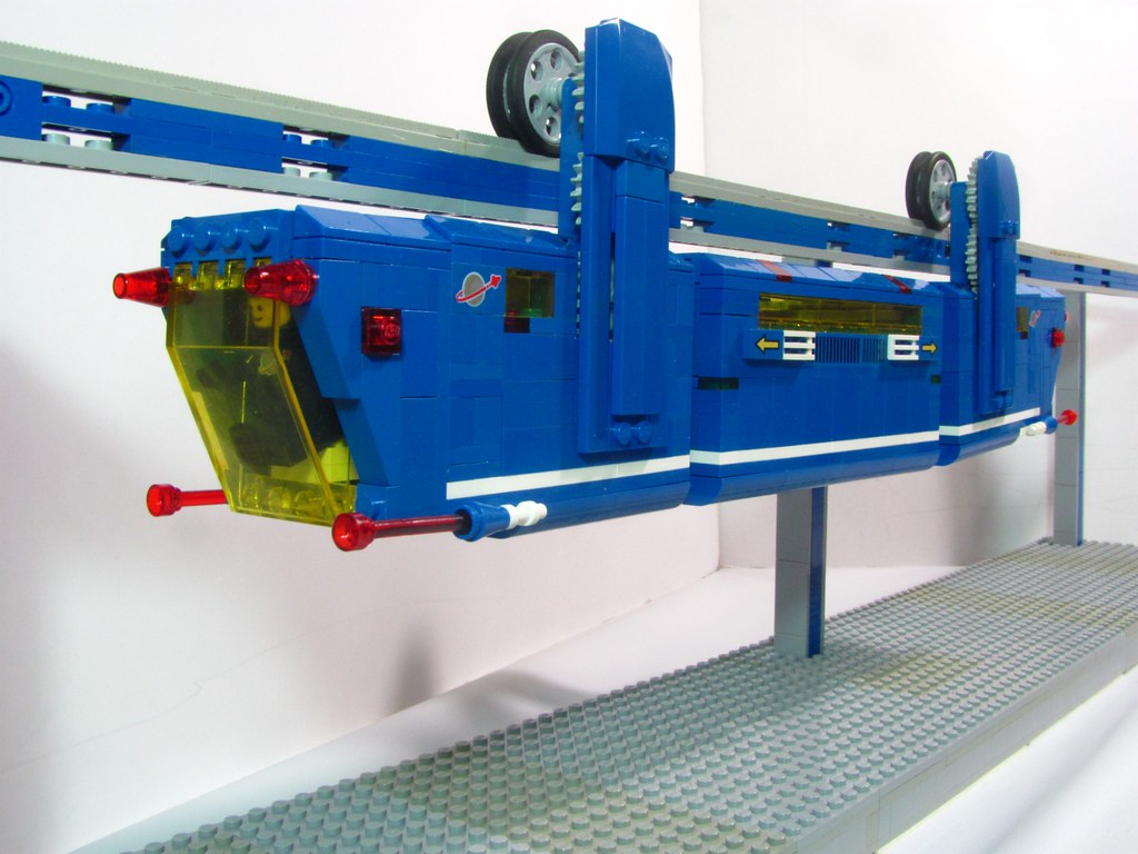 Lego Power Functions Suspended Monorail Not My Usual