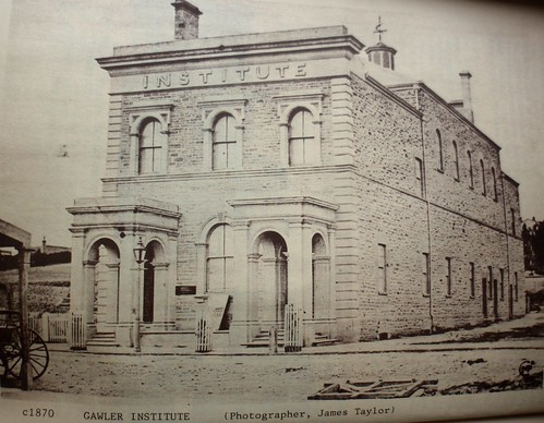 Murray Street 91 Institute c1870 | by Gawler History