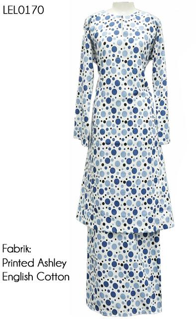 Baju Kurung Tradisional English Cotton LEL0170   Baju ...