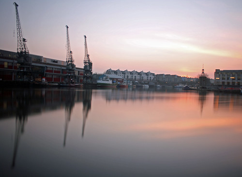 longexposure sunset water bristol harbour day24 floatingharbour 2013 day24365 3652013 365the2013edition 24jan13