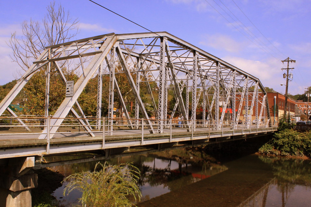 Old Toccoa River Bridge - McCaysville, GA | Also known as th