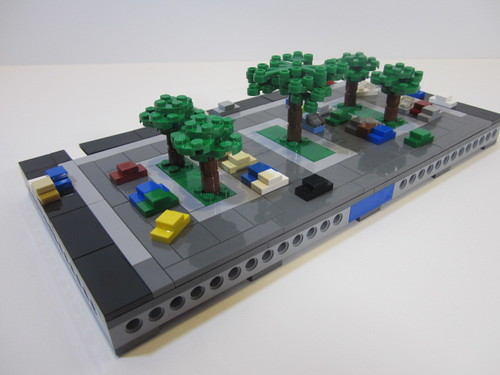 Micropolis - Hospital and Parking Lot