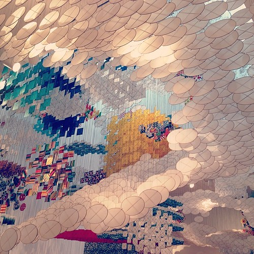 Jacob Hashimoto's Gas Giant exhibit at MOCA - it was magical! | by KizzieFK
