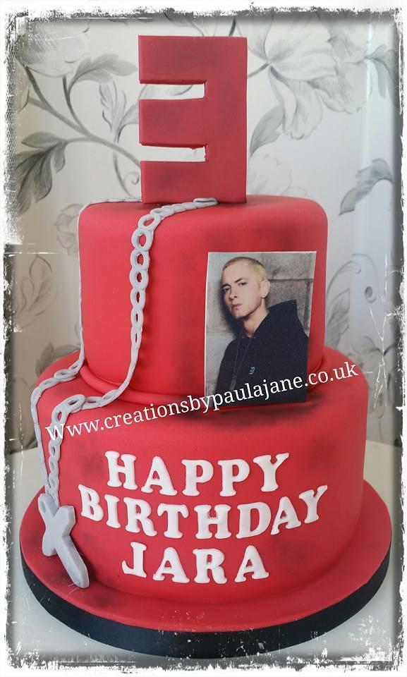 Amazing Eminem Cake Paula Town Flickr Funny Birthday Cards Online Bapapcheapnameinfo