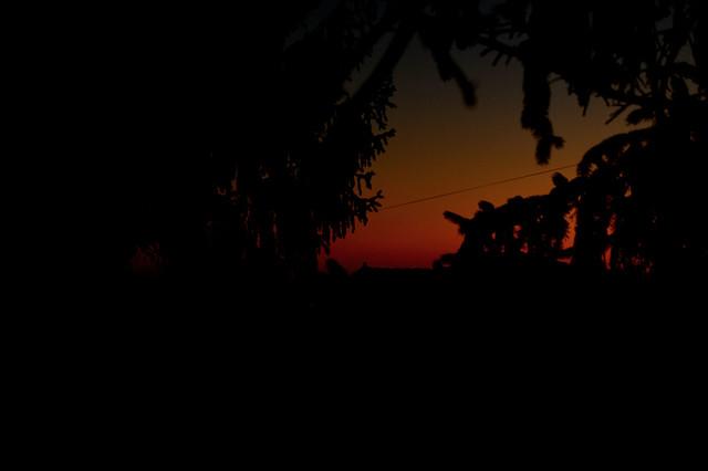 Sunset in Switzerland.