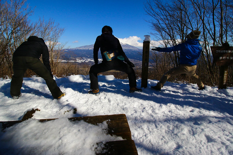 長者ヶ岳の山頂