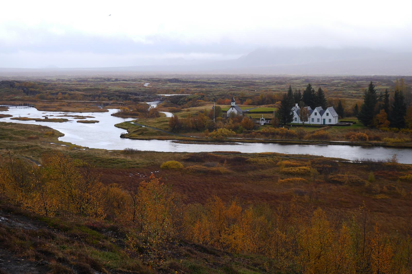 Þingvellir National Park - Church and PM Summer House