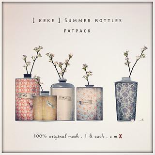 bottled summer   by [ keke ] by Kean Kelly