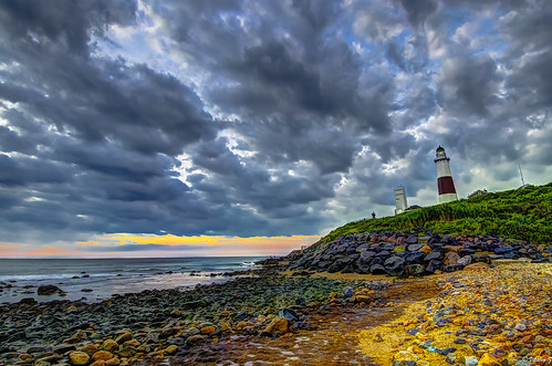 ocean travel lighthouse newyork beach nature clouds sunrise nikon longisland montauk hdr oceanscape montaukpointlighthouse nikond7000 montaukpointlighthousemuseum