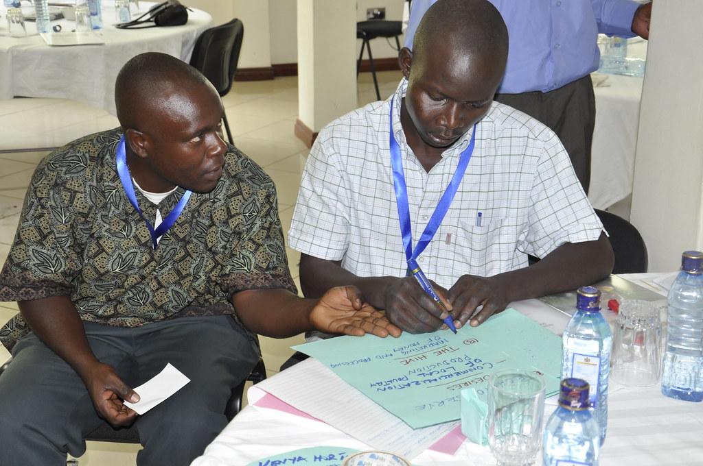 Outcome Mapping Workshop in Kisumu, Kenya