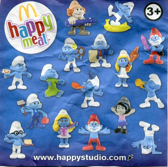 Mcdonald S Happy Meal Toys 2013 : The smurfs mcdonald s happy meal toys poland