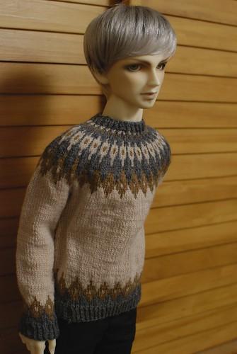 Mr Z in his sweater. | by amubleu