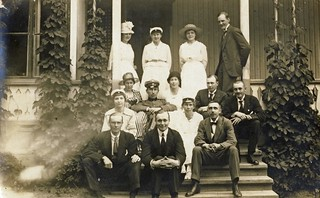 Interesting looking group of people - circa 1920