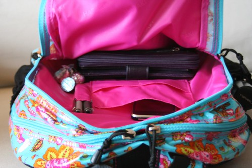 Cool Hadaki Laptop Backpack - Inside Secondary Area | by ~kate~