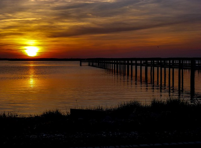 Sunset In Chincoteague