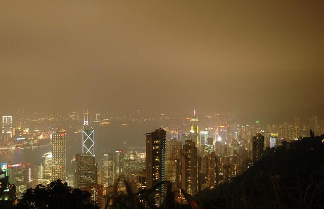 Hong Kong and Kowloon - the illuminations 4