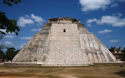 Uxmal: Pyramide du Devin