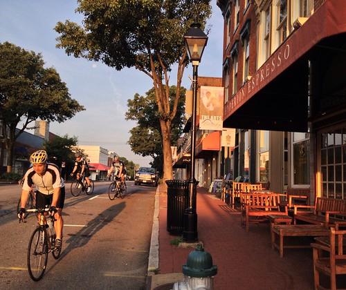 bicycle sunrise virginia fredericksburg hyperion