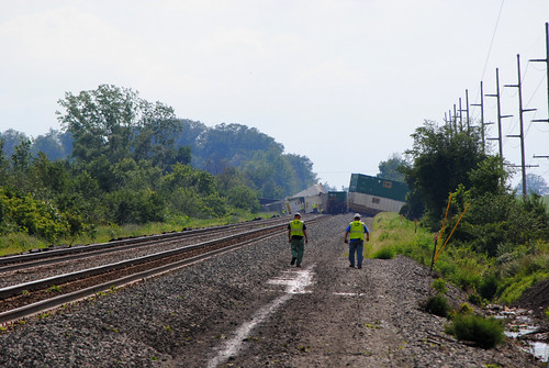 railroad ohio chicago train norfolk line southern derailment intermodal melbern