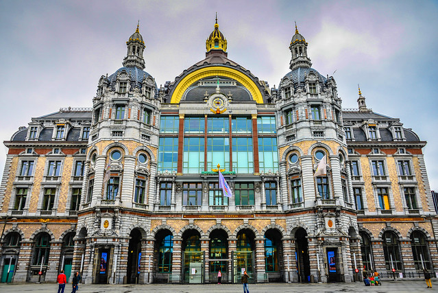 Antwerpen Centraal Railway Station - Antwerp Belgium