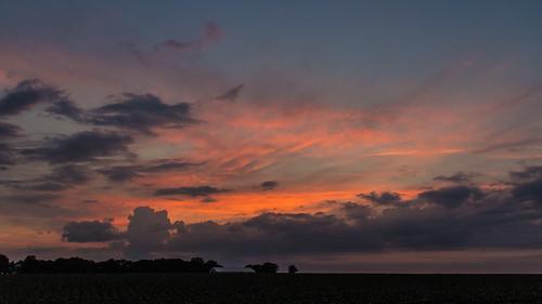 sunset sky night clouds canon landscape evening illinois cloudy dslr t3i 2013