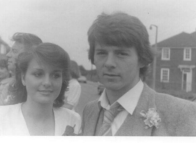 Grahame, Joy at Annette & Mark's wedding