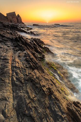 costa seascape sunrise landscape see mar paisaje andalucia amanecer almeria cala villaricos josehernandez calalasconchas