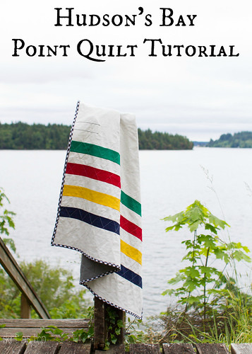 hudson's bay point quilt tutorial // skirt as top | by skirt_as_top