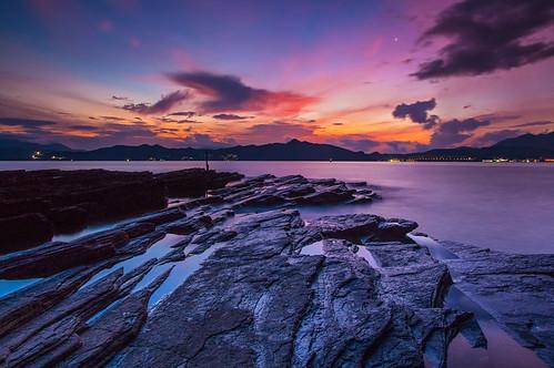 sunrise landscape hongkong pentax 香港 magicmoment taipo k3 日出 tungpingchau 東平洲 戶外