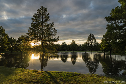sunset lake memorialday