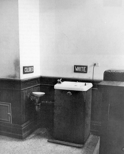 Segregated Drinking Fountains in the County Courthouse of Albany, Georgia - 1962 - Library of Congress