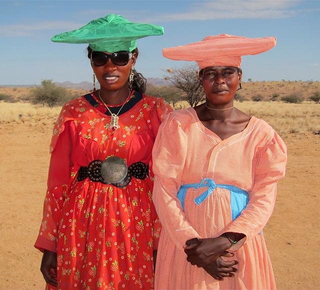 The colourful Herero women